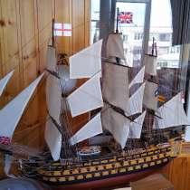 Модель корабля Виктори, в Омске