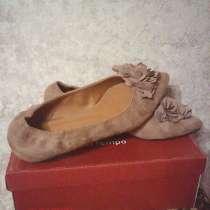 Туфли женские из натуральной замши, в Валуйках