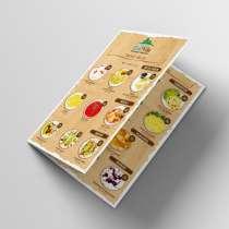 Дизайн и изготовление меню, в г.Кишинёв