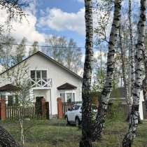 Новый двухэтажный дом село Новолуговое, в Новосибирске