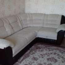 Продам угловой диван с креслом в отличном состоянии. 180000т, в г.Петропавловск