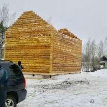 Сруб из бревна 6х9, в Подольске