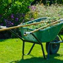 Покос травы. Удалим сорняки, ненужные кусты, деревья, в Рузе