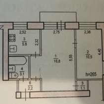 2-к квартира, 39 м2, 3/4 эт. на Аксенова 16, в Хабаровске