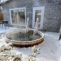 Русская баня на дровах в Октябрьском районе Новосибирска, в Новосибирске
