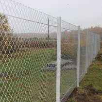 Установка заборов из сетки-рабицы в Барановичах, в г.Барановичи