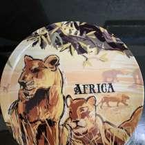Сувенирная тарелка Африки, в Ноябрьске