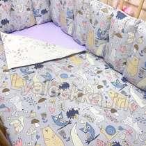 Бортики в кроватку, в Иркутске