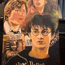 Гарри Поттер и Узник Азкабана картина акварелью, в Москве