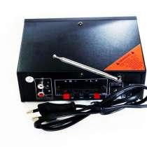 Усилитель WVNGR WG-699BT USB Блютуз 300W+300W 2х канальный, в г.Киев