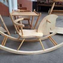 Продлятся деревянная детская качели лошадка, в г.Ташкент
