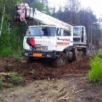 Услуги автокрана КамАЗ 25 тонн, в Екатеринбурге