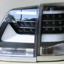 Toyota Land Cruiser 200 фонари задние черные в стиле 2016, в г.Запорожье