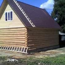 Сборка срубов деревянных домов и бань, в Самаре
