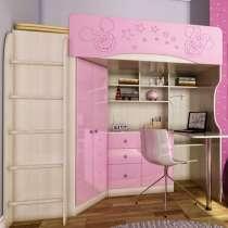 Кровать чердак для девочек, в Москве