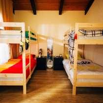 Кровать деревянная массив сосны, в Томске