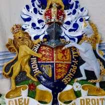 Герб монархов Великобритании, в Кингисеппе