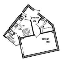 Продам новую 1 комнатную квартиру с ремонтом, в Калининграде
