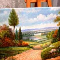 Природная лирика, 60х120см, картина маслом, в Москве