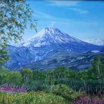 Продам картины (Камчатские пейзажи) маслом от автора, в Петропавловск-Камчатском