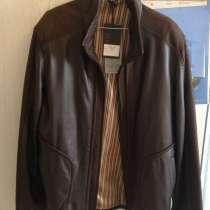 Продам куртка мужская, Турция, кожа нежная, мягкая, в Челябинске