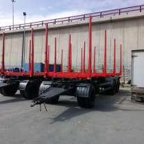 Сортиментовозный прицеп для перевозки леса 600320, в Санкт-Петербурге