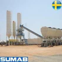 Стационарный бетонный завод Sumab T-120, в Самаре