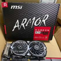 Radeon RX 580 ARMOR 4G 8G OC Used Gaming Graphic, в Санкт-Петербурге