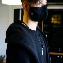 Тканевые брендированные маски, в Москве