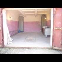 Продам гараж 24м2,оштукатурен, кирпичный, есть свет, яма, в Воскресенском