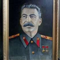 Портрет И. В. Сталина, в Дмитрове