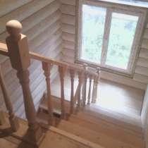 Деревянные лестницы в дом от местного производителя, в Новосибирске