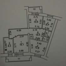 Продаю4-х ком. квартиру, на 2-ом этаже в кирпичном доме, в Нефтекамске