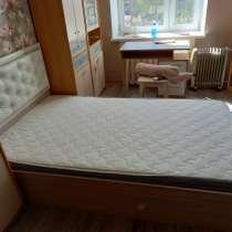 Кровать 160*200 с ортопедическим матрасом, в Кимре