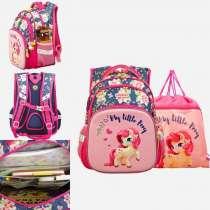 Школьный рюкзак для девочки+сменный мешок, в Москве