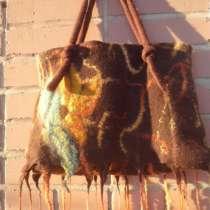 Сумка из шерсти австралийского мериноса от мастера, в Новосибирске