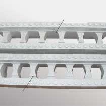 Строительные стеновые блоки несъемной опалубки с графитом, в г.Минск