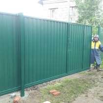 Ворота откатные с автоматикой, в Раменское