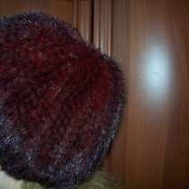 Берет новый из вязанного меха норки, в г.Петропавловск