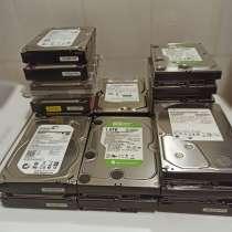 Винчестеры жёсткие диски HDD под восстановление, в Москве