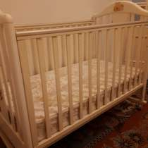 Детская кроватка с комодом производство Италия бренд Pali, в Москве