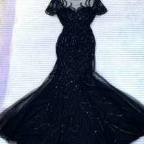 Чёрное платье на выпускной, в Москве
