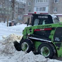 Уборка снега, в Рубцовске