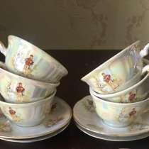 Чашки кофейные с блюдцами Мадонна. Югославия, в Краснодаре