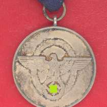 Германия 3 рейх Медаль 8 лет выслуги в полиции, в Орле
