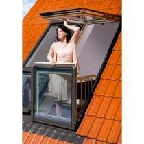 Мансардные окна фирмы FAKRO, в Раменское