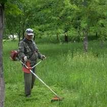 Пкос травы и спил деревье, обрезка веток с вывозом и без, в Майкопе
