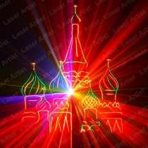 Профессиональное лазерное шоу, в Москве