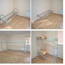 Кровати металлические для рабочих, общежитий, в Москве