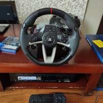 Игровой руль приставка Wireless Racing Wheel Apex (PS4-142E), в Калининграде